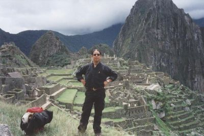 KARL ROBLES IN MACHU PICCHU